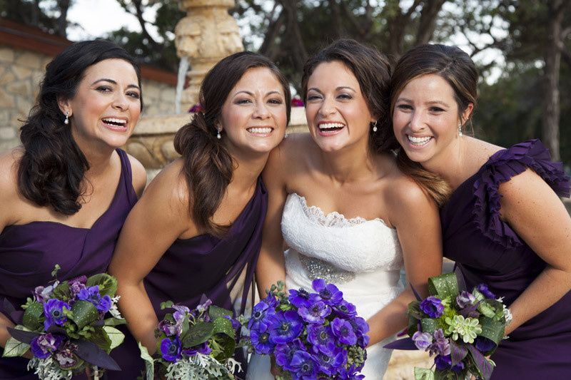 Purple theme wedding