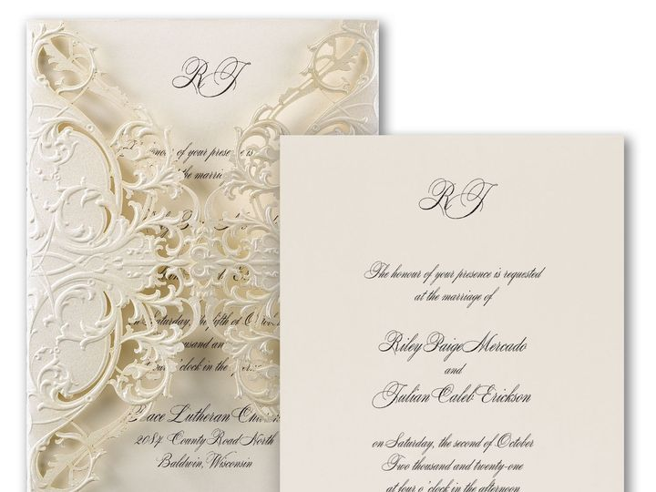 Tmx 1539287850 5b2a653a5cca5c80 1539287849 F60befbdd1d08d7c 1539287845915 7 Carlson Craft Lase Windsor wedding invitation