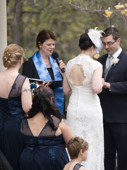 We included a hand-fasting  ceremony for the couple and a family unity ceremony too