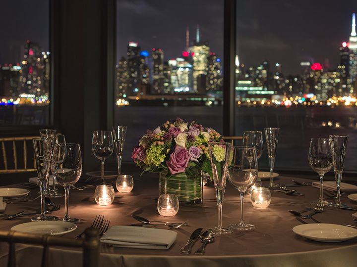 Tmx 1415726445573 Centerpiece Skyline Weehawken, NJ wedding venue