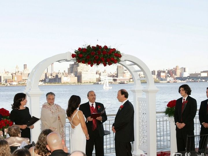 Tmx 1415727142729 Pro Ceremony Deck Weehawken, NJ wedding venue