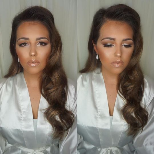 Bronze and glowing