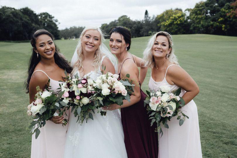 Half up Orlando bridal stylist