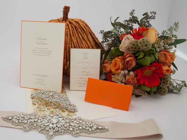 Tmx 1425616721442 Stillshots April 2014 2015 03 05 At 17 10 58 Newtown, New York wedding invitation