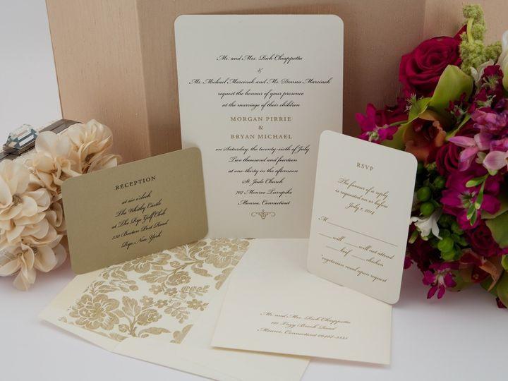 Tmx 1425616742668 Stillshots April 2014 2015 03 05 At 17 35 42 Newtown, New York wedding invitation