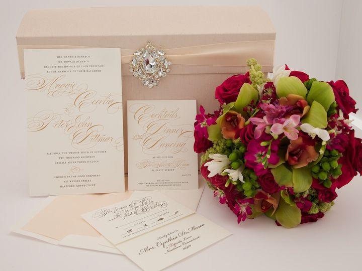 Tmx 1425616751954 Stillshots April 2014 2015 03 05 At 17 41 32 Newtown, New York wedding invitation