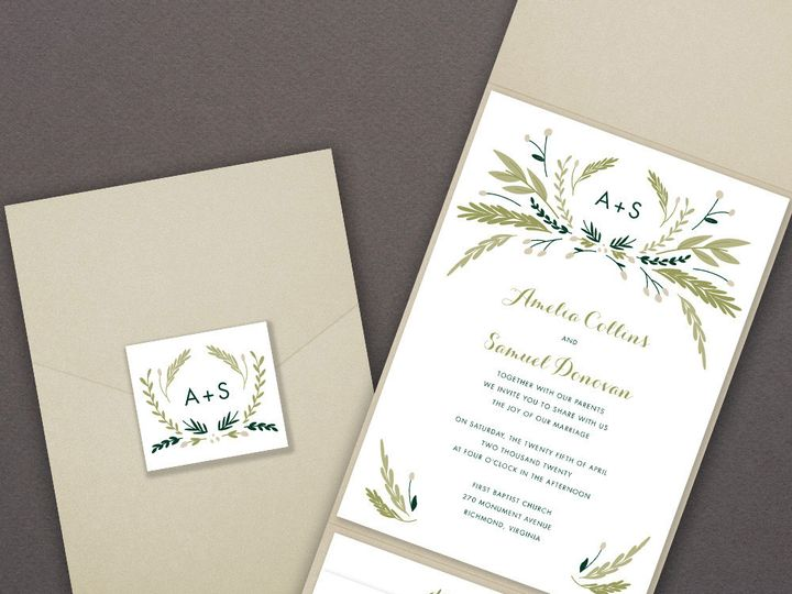 Tmx 1507836023911 78g4002zoom Copy Newtown, New York wedding invitation