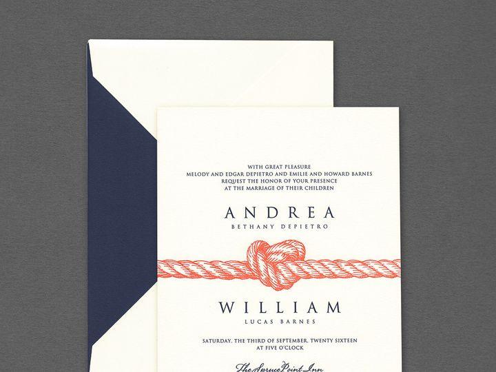 Tmx 1507836060746 99 106250kl Copy Newtown, New York wedding invitation