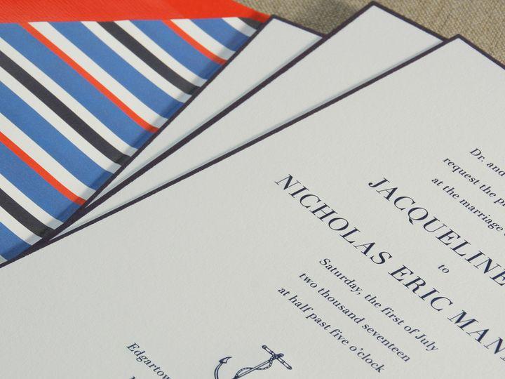 Tmx 1507836081681 497inv2 Copy Newtown, New York wedding invitation