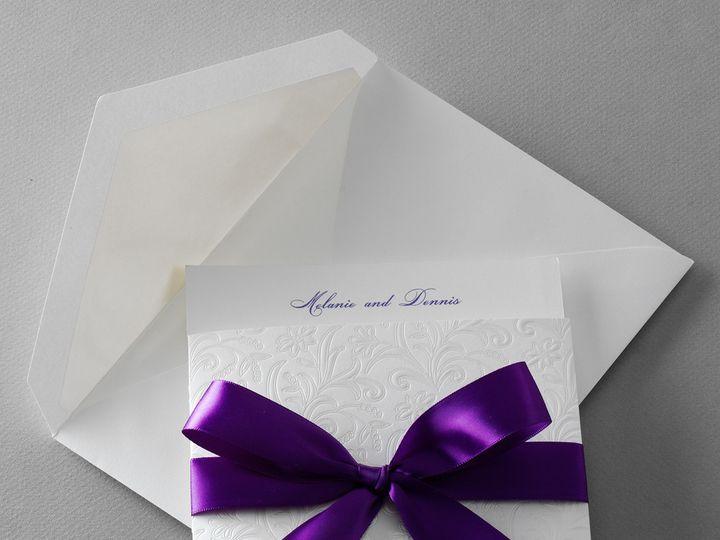 Tmx 1507836112400 3704pu0zoom Copy Newtown, New York wedding invitation