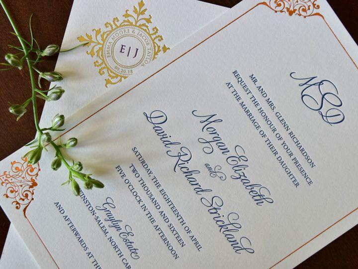 Tmx 1515608140 46364635946601d6 1515608133 Bf8e6f9c41fca46d 1515608118602 34 July21 Bride 21 Newtown, New York wedding invitation