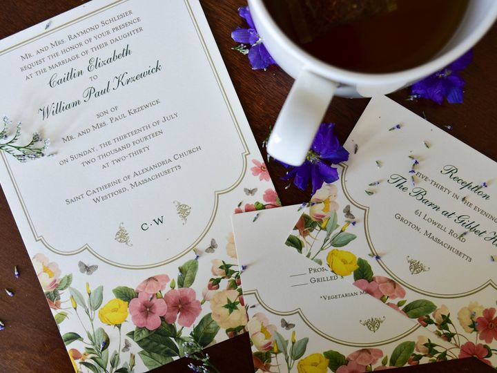 Tmx 1515608140 Ffb873ed48027153 1515608134 4854340887628296 1515608118606 36 July21 Bride 23 Newtown, New York wedding invitation