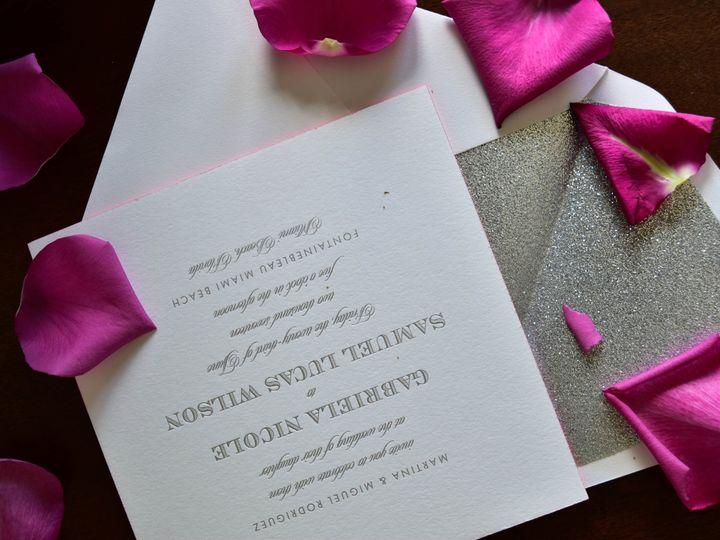 Tmx 1515608143 808daaaf7cce0d77 1515608134 05cbdd2e954153eb 1515608118608 37 July21 Bride 24 Newtown, New York wedding invitation