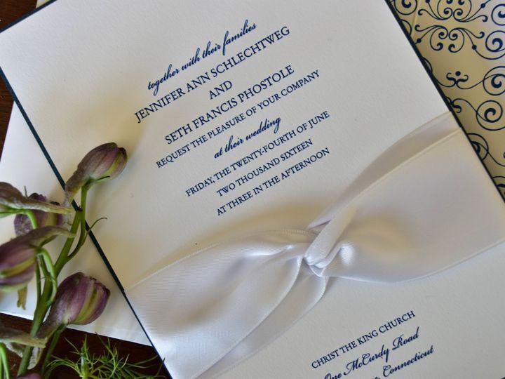 Tmx 1515608147 Fe5b3ebc3b9416cf 1515608144 6f6bd8dac1e1fc98 1515608118614 41 July21 Bride 28 Newtown, New York wedding invitation