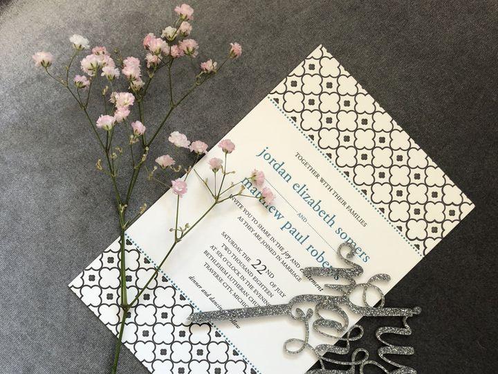 Tmx 1529607732 Eb3b5d84a75ed1b6 1529607728 F9dfdaeaaf703d9c 1529607727028 16 IMG 3289 Newtown, New York wedding invitation