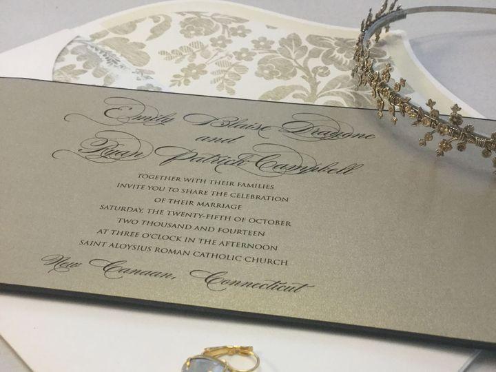Tmx 1529607756 A8a3a6dd5a5ab000 1529607749 2fa130fbe164a703 1529607748138 21 IMG 9078 Newtown, New York wedding invitation