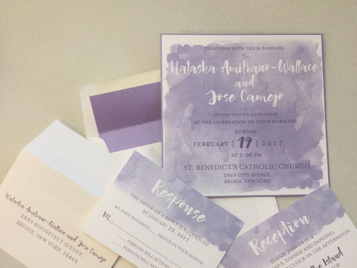 Tmx 1529607757 70613de8747bb82c 1529607742 6f4330eb145aa628 1529607741251 20 IMG 9076 Newtown, New York wedding invitation