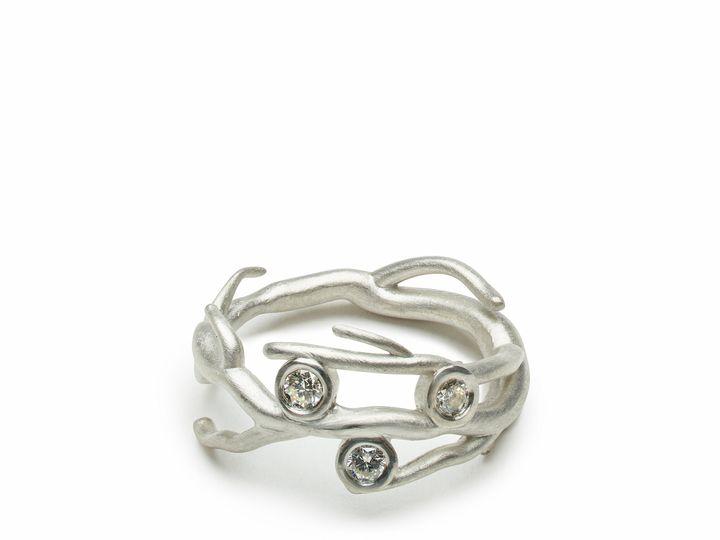 Tmx Branch Ring Silverdiamond 51 1861351 160687336887520 South Burlington, VT wedding jewelry