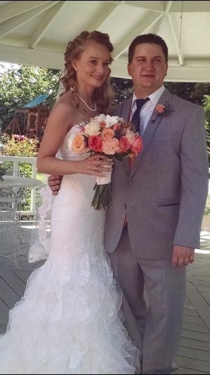 wedding in gazebo 2015