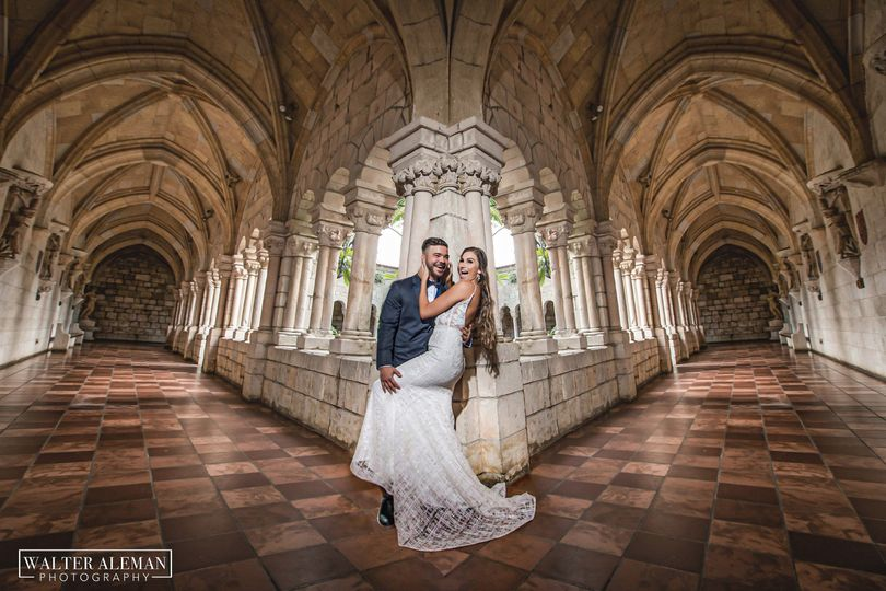 Spanish Monastary wedding