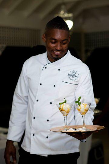 Ice Cream In Martini Glass