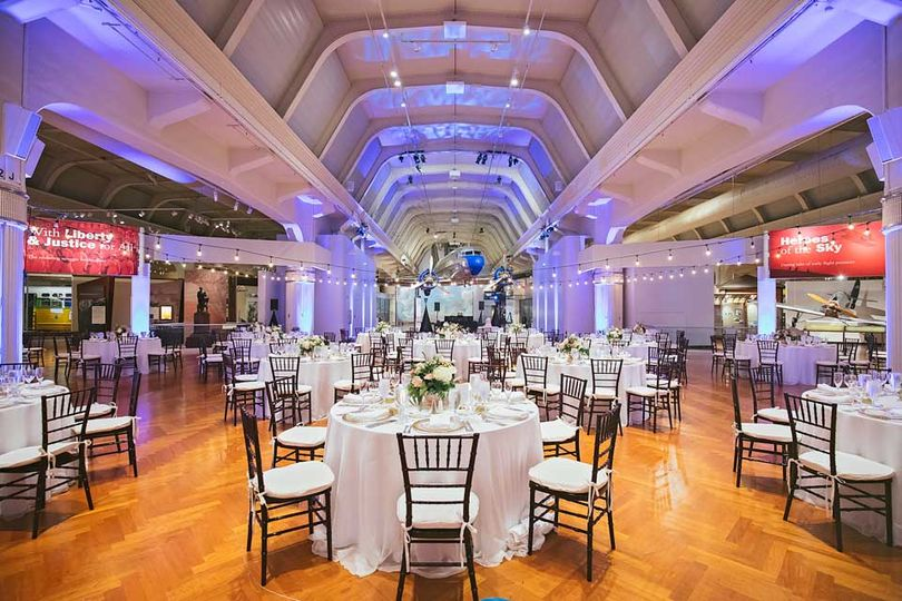 Reception setup and design