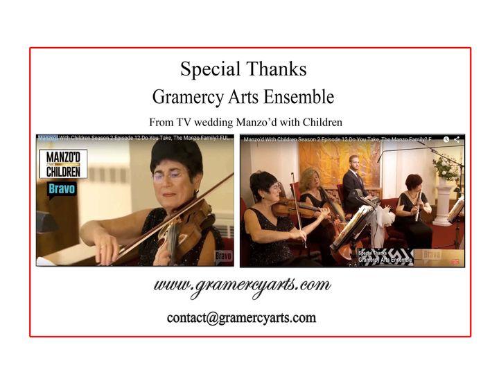 Tmx 1466094439729 Gramercy Arts On Bravotv 2 Englishtown wedding ceremonymusic