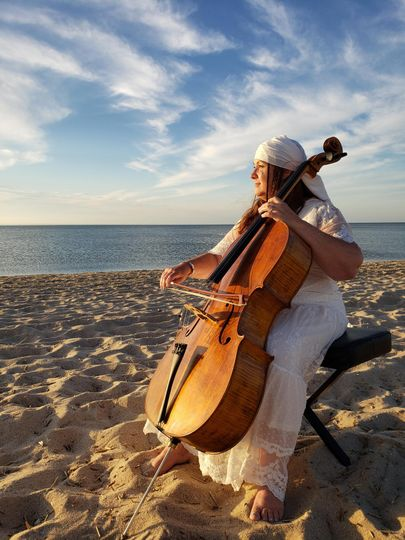 Barbara on Cello
