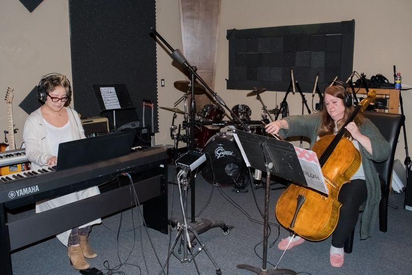 Shiloh in the studio