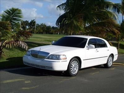 White luxury sedan