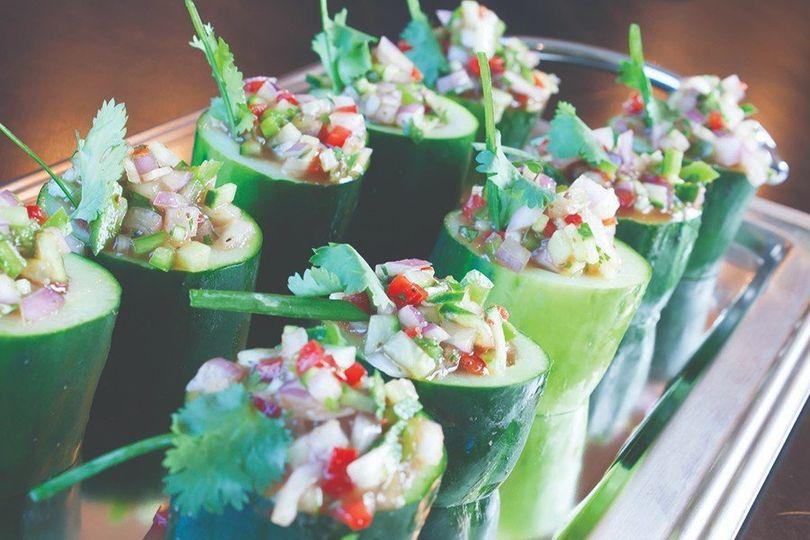 Cucumber Gazpacho Cups