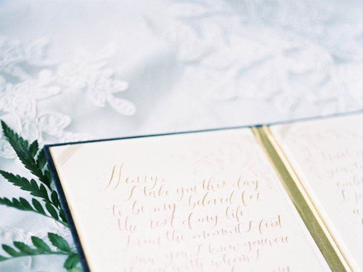 Tmx 1468639419721 Wedding Story Writer Vow Book Blue Apex, NC wedding invitation