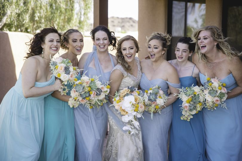 Girls just want to have fun! Check out those stunning bouquets made by our very own in-house...