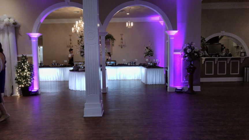 Our Up -Lighting ads that special touch to your event location. www.hammonddj.com