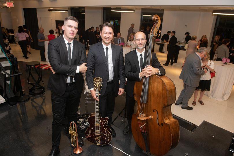 SL trio at Sony office