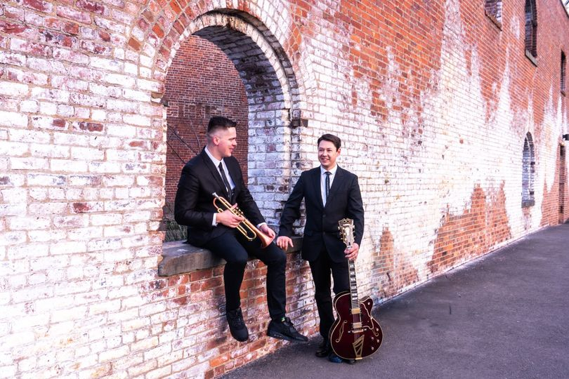 Trumpet and guitar duo