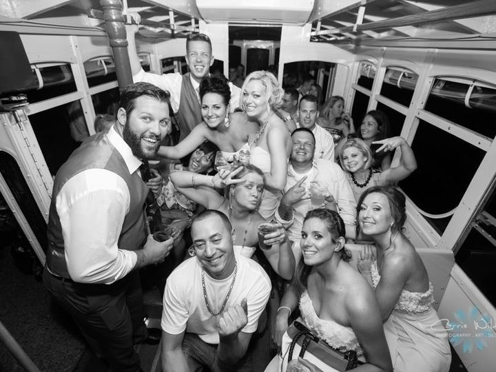 Tmx 1486394781765 Wedding Bw Group Shot  Sarasota, Florida wedding transportation