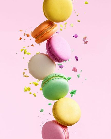 Colorful sweet treats
