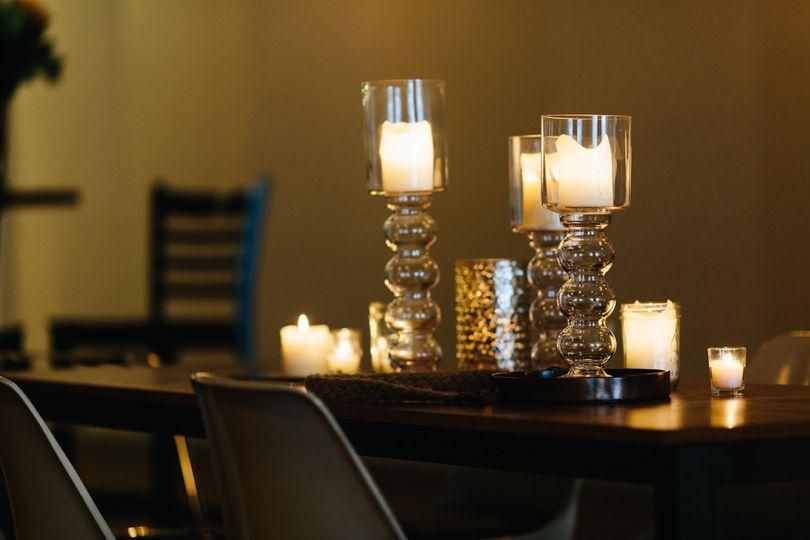 Elegant candles