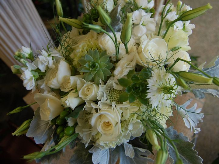 Tmx 1490391379364 White Scabosia Bouquet Missoula, Montana wedding florist