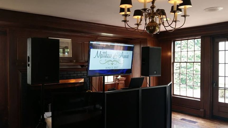 The honeymoon suite interior