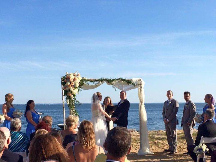A beaitiful beach wedding