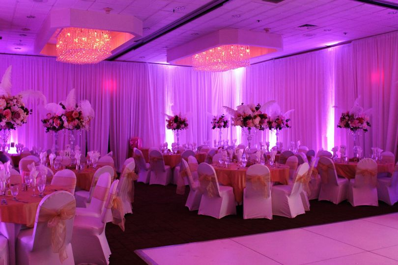 Reception set-up