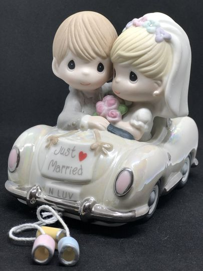 Just married ornament