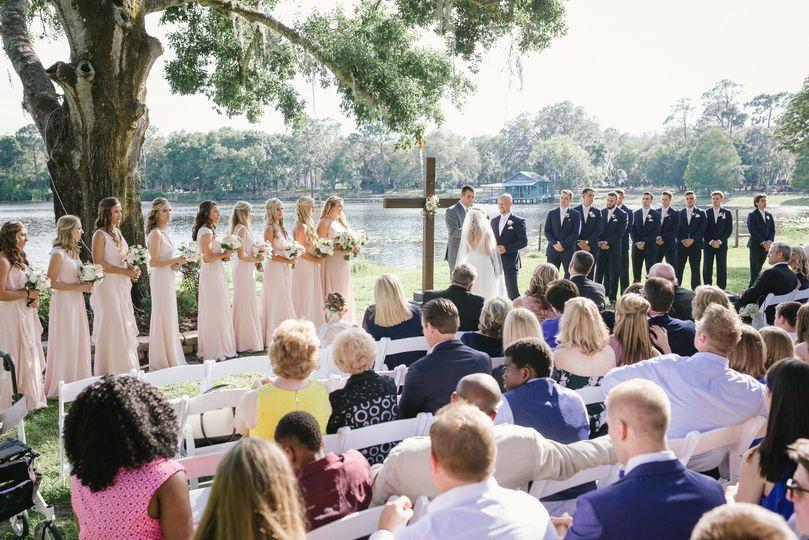 Ceremony on Crescent Lake