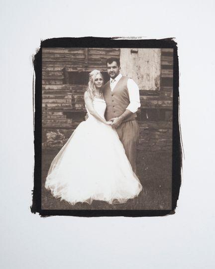 Jaimee & Mark Platinum Print