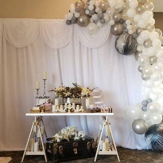 Balloons and display