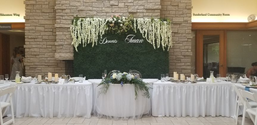 Stunning Table w Backdrop