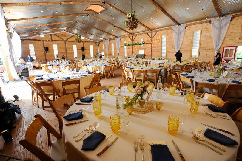Inside of barn - upper level