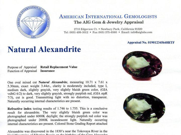 Tmx 1403020722950 Alexandrite Jpeg269 Newbury Park wedding jewelry